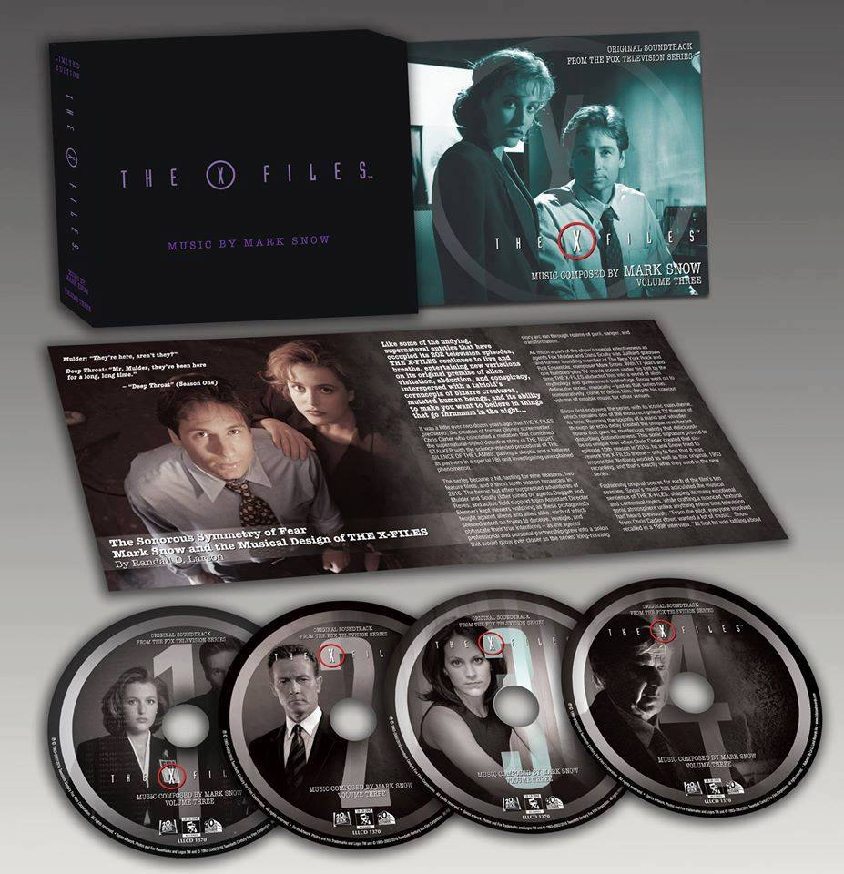 The X Files Volume Three Released By La La Land Records